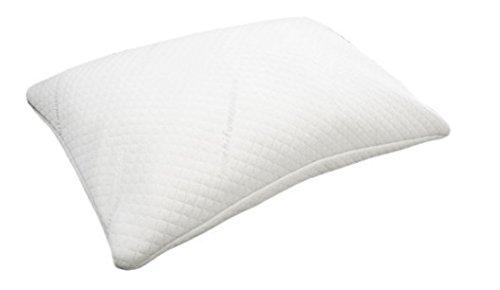 首・肩への負担軽減 【もちふわ エアチップピロー】 低反発チップまくら 枕 ホワイト Sサイズ 約35×50cm