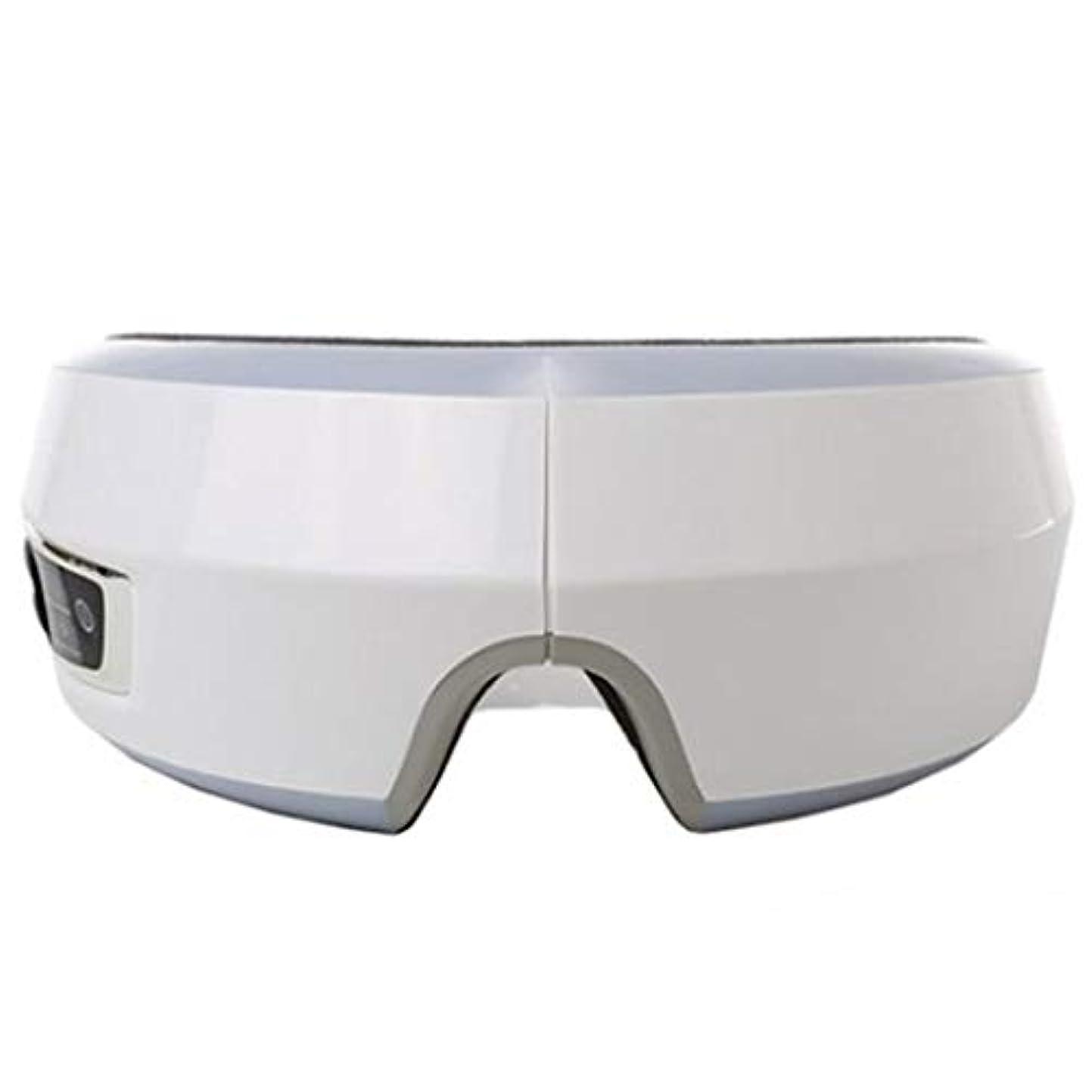 鯨擬人乳白ZESPAアイヒーリングソリューションアイマッサージャー振動加熱マッサージ音楽機能ZP441 ZESPA Eye Healing Solution Eye Massager Vibration Heating Massage...