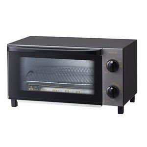 コイズミ オーブントースター ブラックKOIZUMI KOS-...