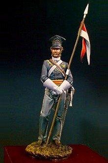 アンドレアミニチュア S13-F01 クリミア戦争 第17連隊槍騎兵( 1854年 )