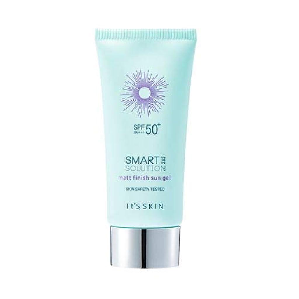 酸化する卵なんでもIts skin Smart Solution 365 Matt Finish Sun Gel イッッスキン スマート ソリューション365 マット フィニッシュ サン ジェル 50ml [並行輸入品]