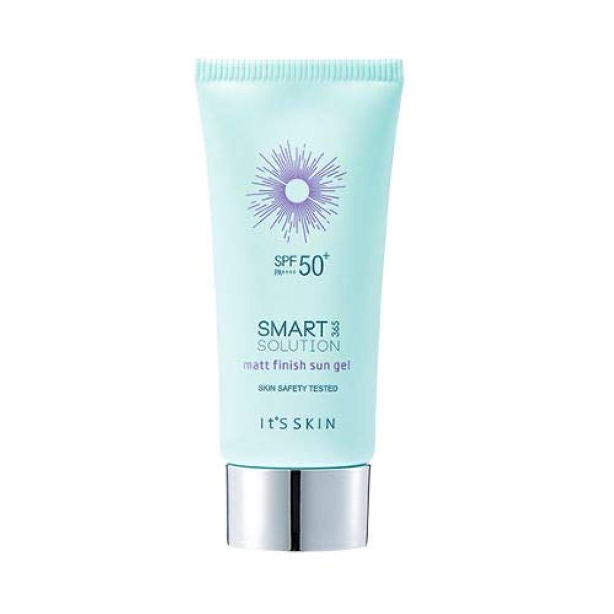 ダイアクリティカル西部会員Its skin Smart Solution 365 Matt Finish Sun Gel イッッスキン スマート ソリューション365 マット フィニッシュ サン ジェル 50ml [並行輸入品]