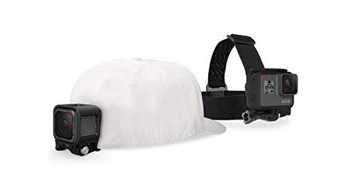 【国内正規品】 GoPro 用アクセサリ ヘッドストラップ&クリップ ACHOM-001