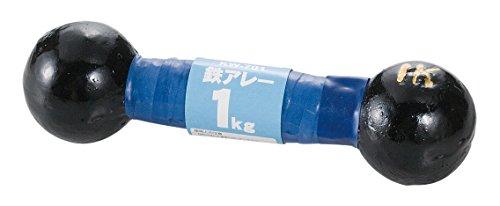 カワセ 鉄人倶楽部 鉄アレー 1kg KW-701