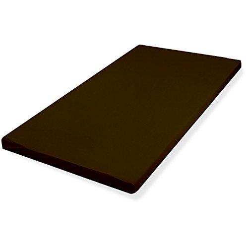 ottostyle.jp コンビマットレス 8cm セミダブル(4cm低反発+4cm高反発) ブラウン