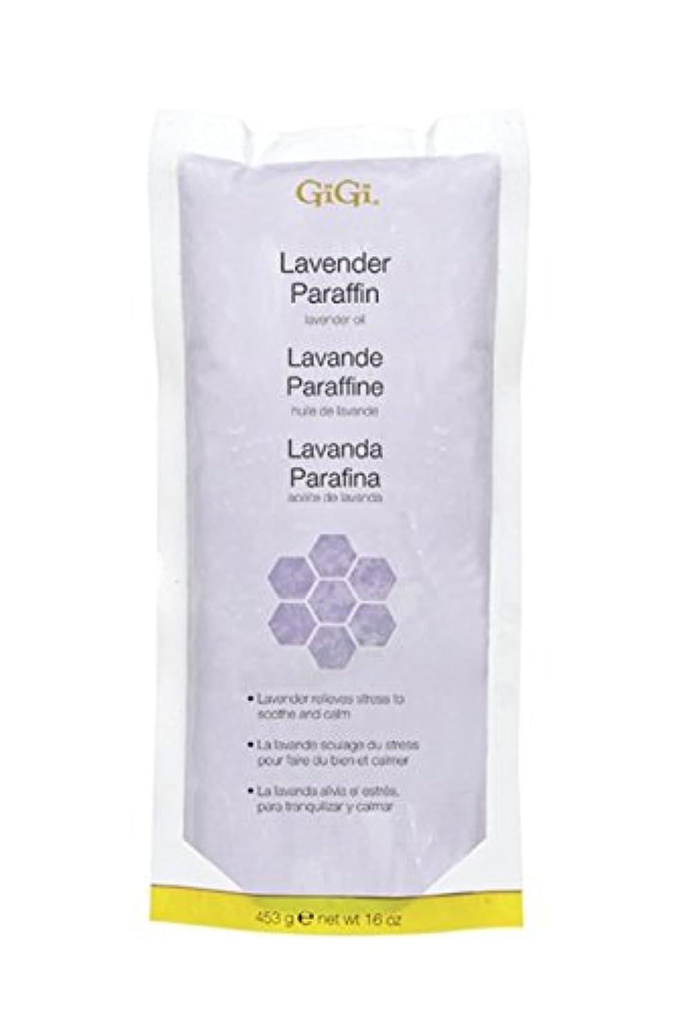 症状特徴づけるモデレータ(Lavender) - GiGi Lavander Paraffin with Lavander Oil (for Women)