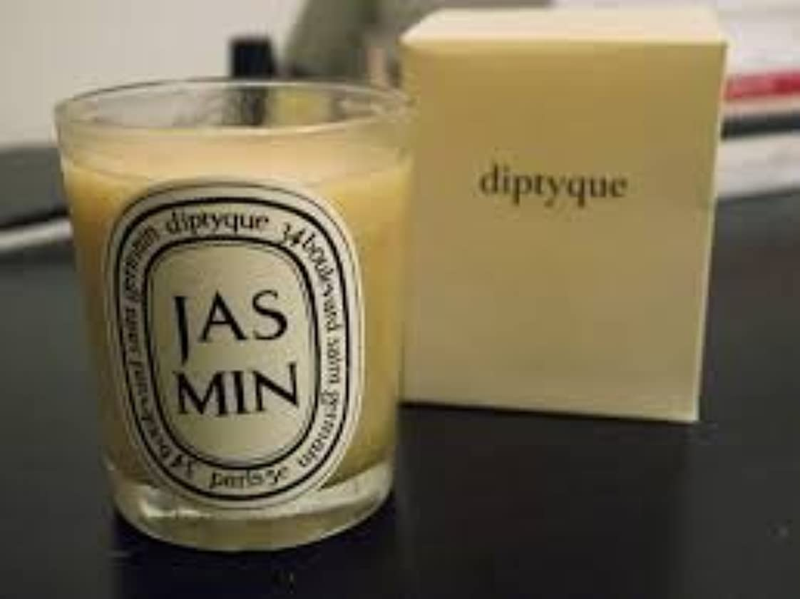 賄賂スタジアムプラカードDiptyque Jasmin Candle (ディプティック ジャスミン キャンドル) 2.4 oz (70g)