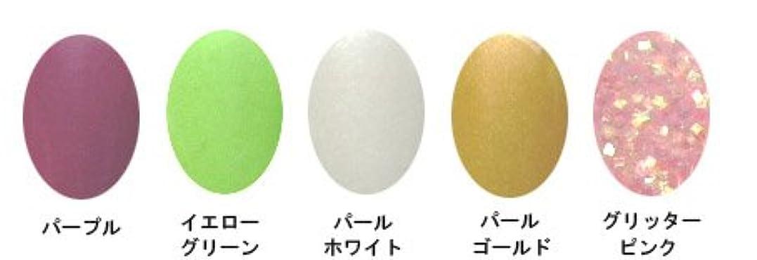 ハンバーガー障害アジテーションアクリルカラーパウダー 5g (5色???) A