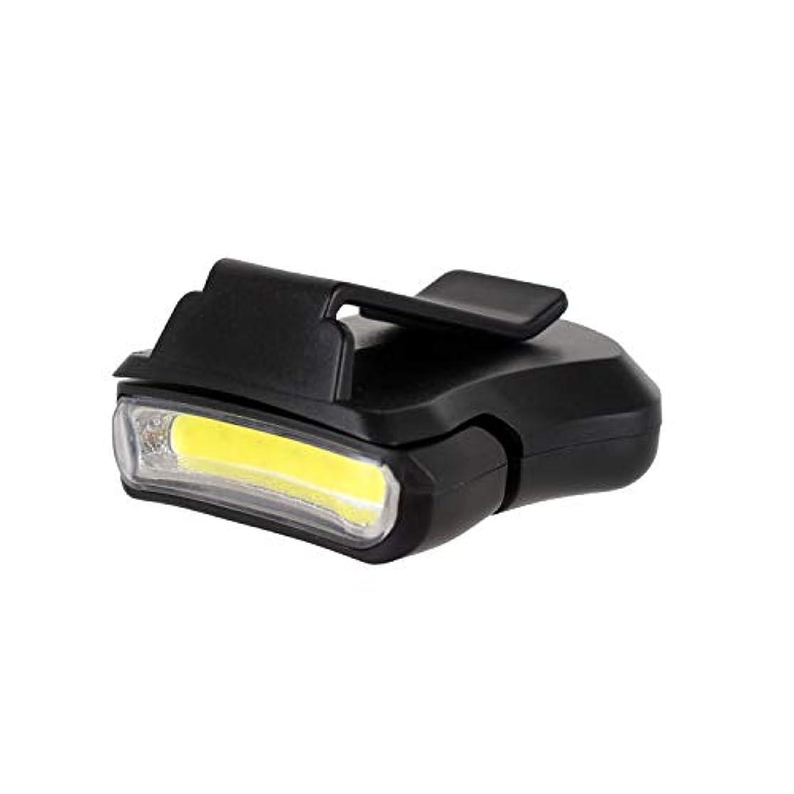 動揺させる徒歩で全能LEDキャップライト ヘッドライト ヘルメットライト クリップ式 0-90°角度調整可能 電池付属 24時間連続点灯 ON/OFFのみ 30g軽量 アウトドア用品 夜釣り Wolfteeth 4144
