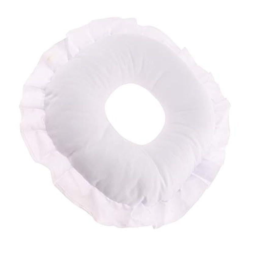 区未接続水没CUTICATE 全3色 フェイスピロー 顔枕 マッサージ枕 マッサージテーブルピロー 柔軟 洗えるカバー リラックス - 白