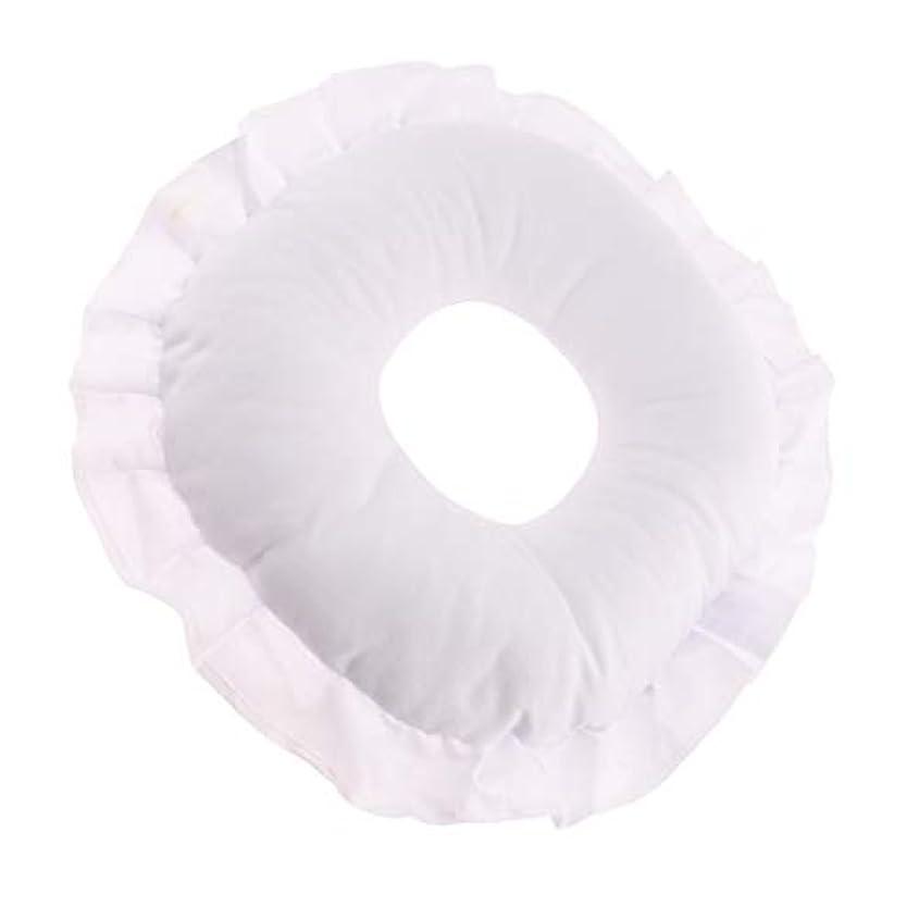 高度落ち着いて原稿CUTICATE 全3色 フェイスピロー 顔枕 マッサージ枕 マッサージテーブルピロー 柔軟 洗えるカバー リラックス - 白