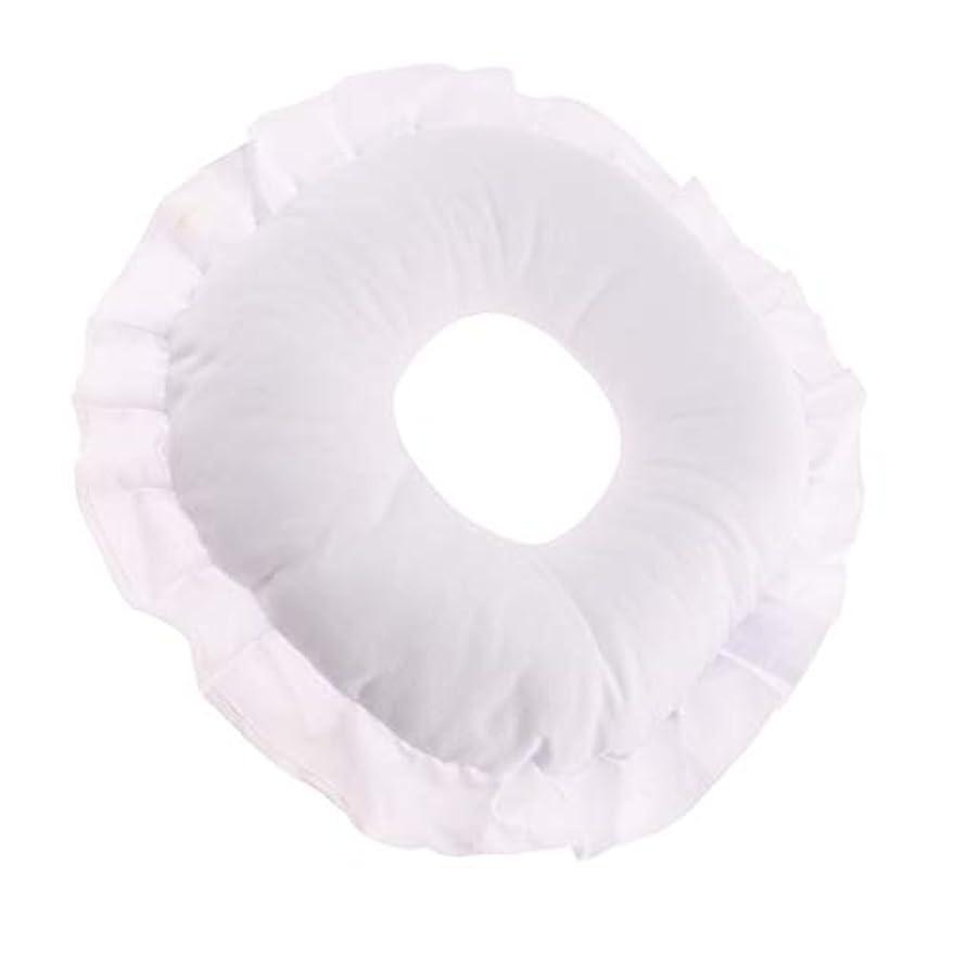 結婚置換講義CUTICATE 全3色 フェイスピロー 顔枕 マッサージ枕 マッサージテーブルピロー 柔軟 洗えるカバー リラックス - 白