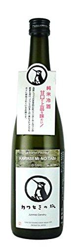 越の華酒造 純米原酒 カワセミの旅 瓶 箱入り 720ml