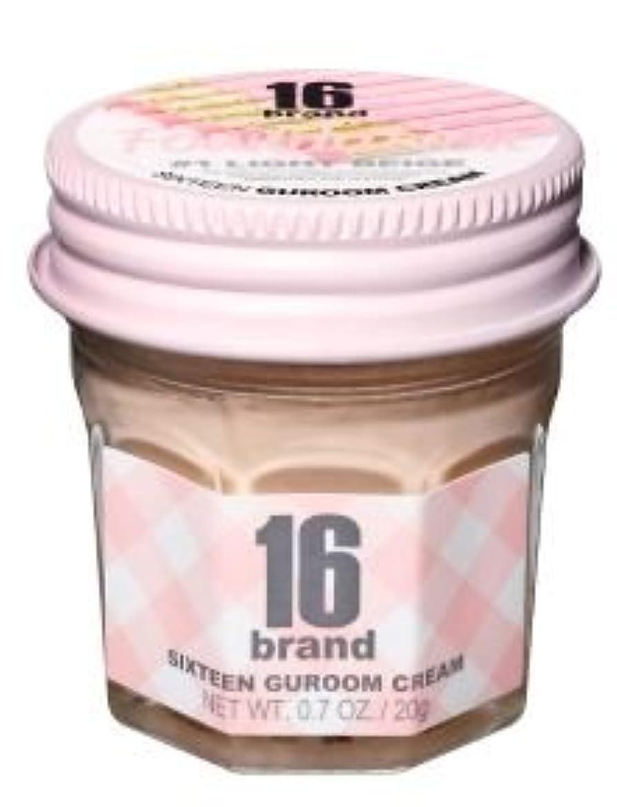 陰謀うま相続人16brand Sixteen Guroom Cream Foundation 20g/16ブランド シックスティーン クルム クリーム ファンデーション 20g (#1 Light Beige) [並行輸入品]