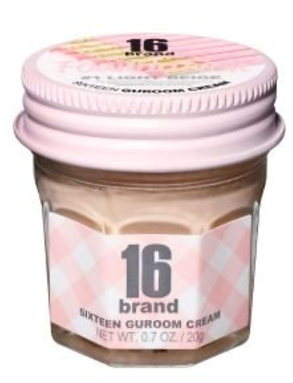 一族解決ショート16brand Sixteen Guroom Cream Foundation 20g/16ブランド シックスティーン クルム クリーム ファンデーション 20g (#1 Light Beige) [並行輸入品]
