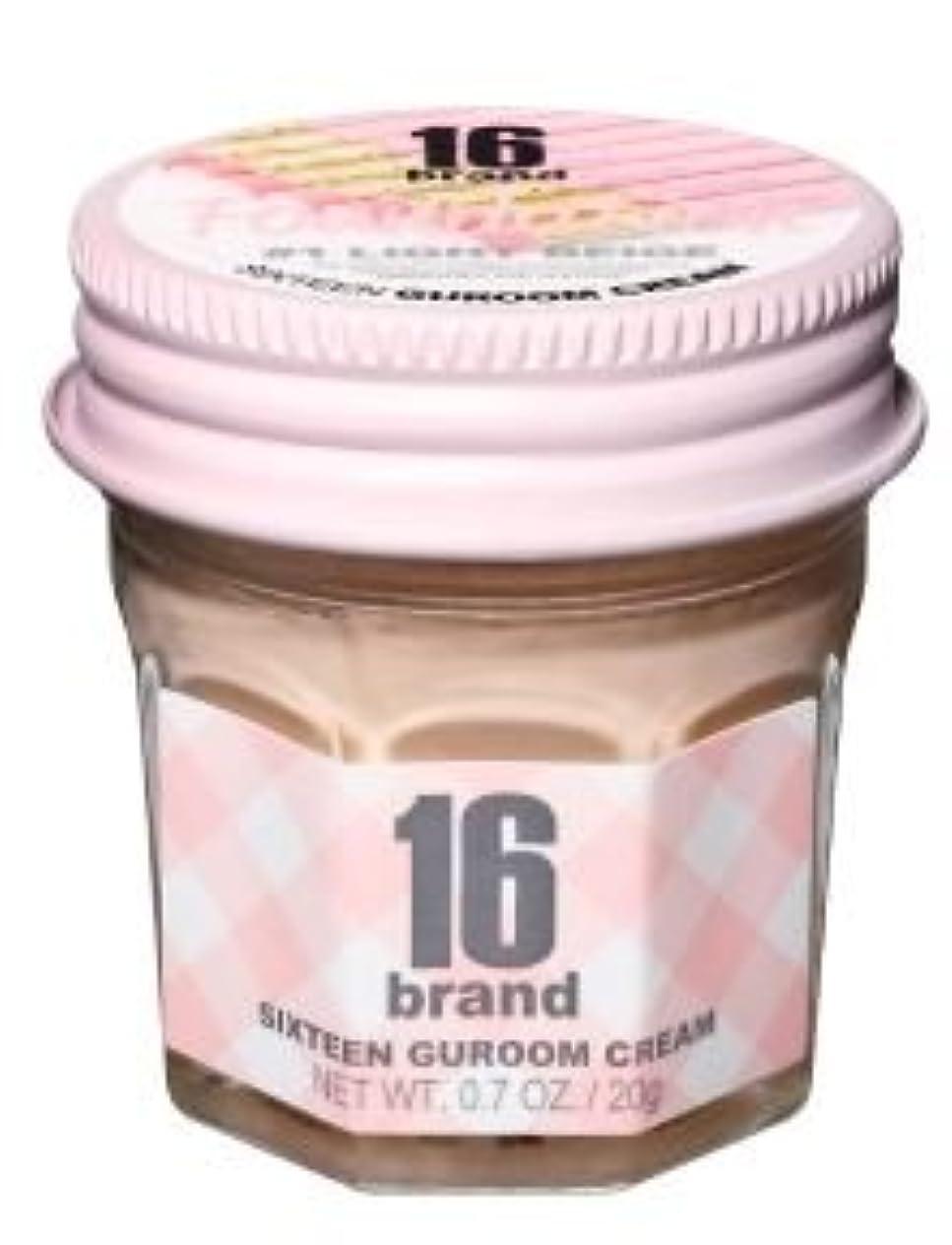 卵脊椎ちっちゃい16brand Sixteen Guroom Cream Foundation 20g/16ブランド シックスティーン クルム クリーム ファンデーション 20g (#1 Light Beige) [並行輸入品]