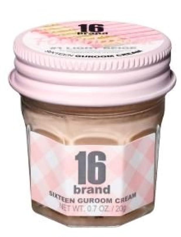 プレミア性格アヒル16brand Sixteen Guroom Cream Foundation 20g/16ブランド シックスティーン クルム クリーム ファンデーション 20g (#1 Light Beige) [並行輸入品]