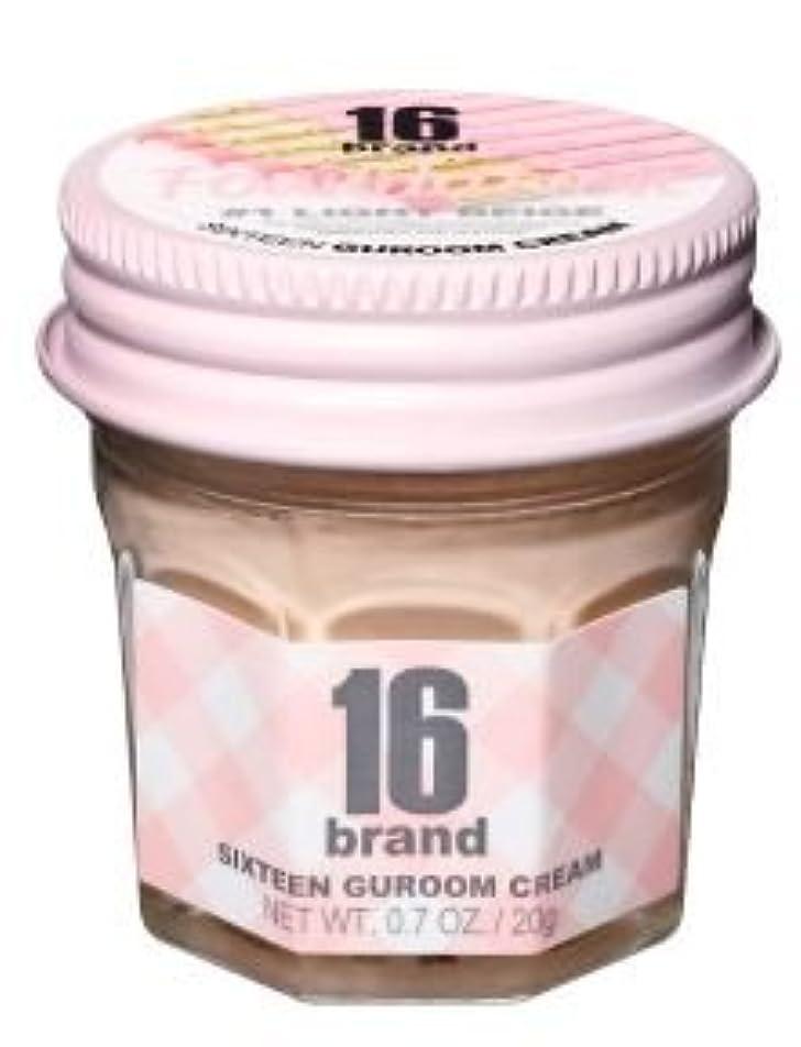 スパーク安全しっとり16brand Sixteen Guroom Cream Foundation 20g/16ブランド シックスティーン クルム クリーム ファンデーション 20g (#1 Light Beige) [並行輸入品]