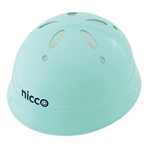 クミカ工業 Nicco ヘルメット KH002L/ベビー用/47-52cm/SG/日本製/ハードシェル ライトブルー
