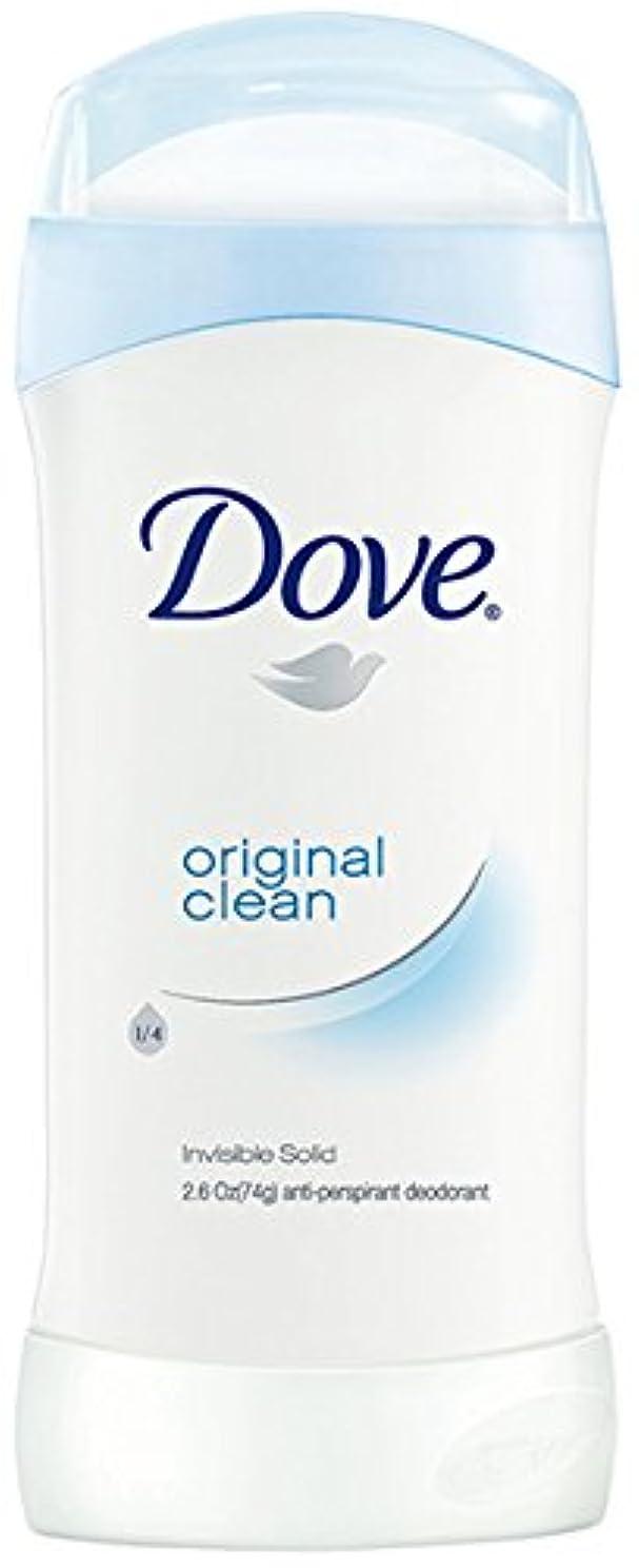説明的可能性反毒ダヴ(Dove) 固形デオドラント スティック オリジナルクリーンの香り 74g×2個[並行輸入品]