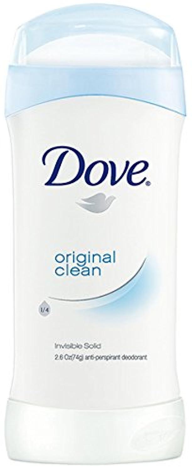 ダヴ(Dove) 固形デオドラント スティック オリジナルクリーンの香り 74g×2個[並行輸入品]