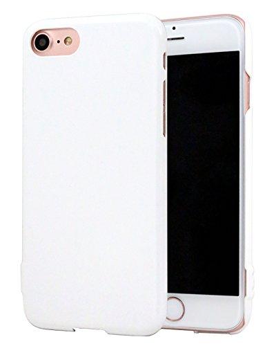 iPhone 7 / 8 ケース ホワイト 白 ストラップホ...
