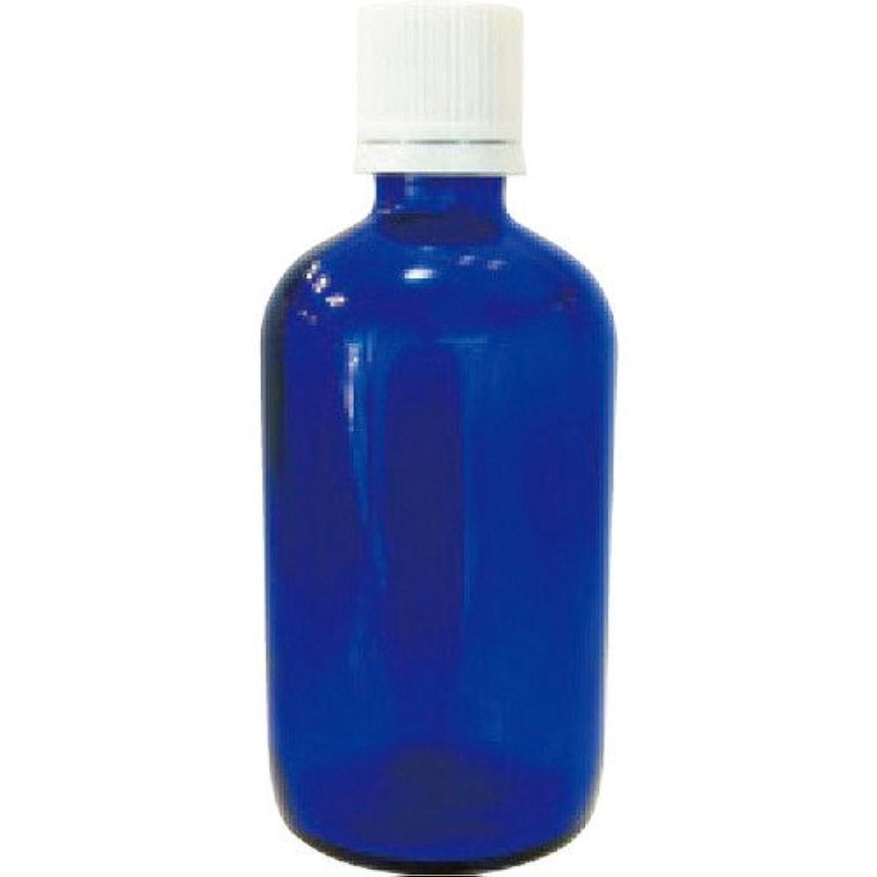 したい怪しい首相青色ガラス瓶100ml