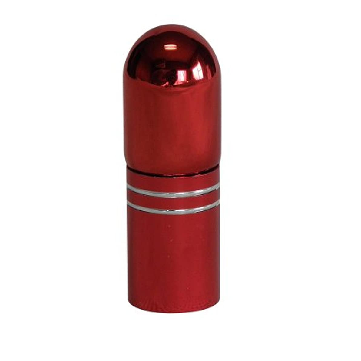 トランペット軍団ホステスアトマイザー 携帯 持ち運び ミニ サイズ 3ml ロール オン タイプ 香水 詰め替え (レッド)