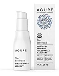 Acure Organics オーガニック モロッコ原産 アルガンオイル トリートメント 全ての肌タイプ用 1 oz 30ml【並行輸入品】