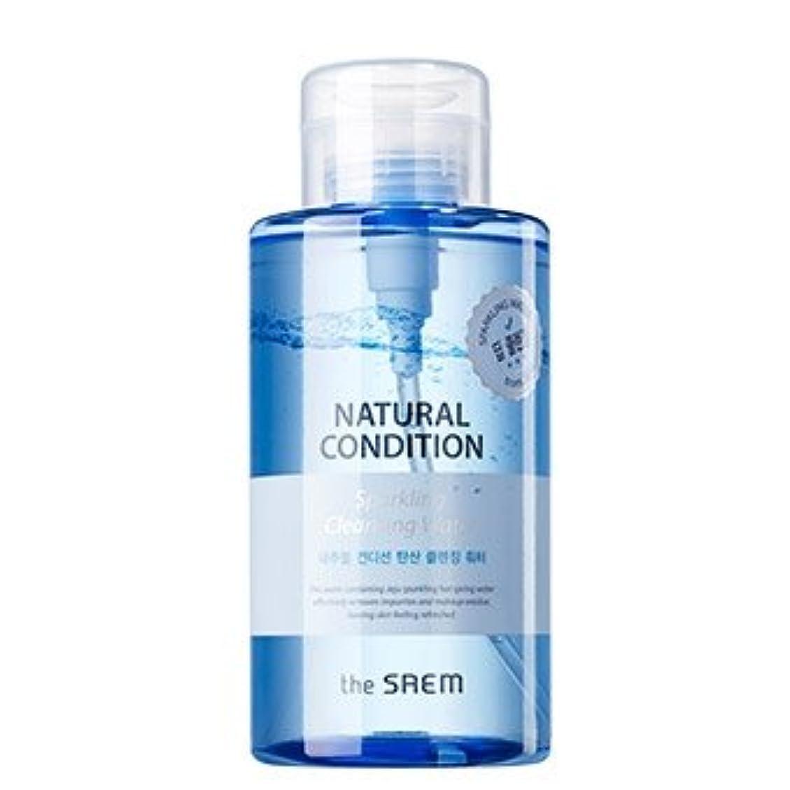 ルーチン複数乗り出すthe SAEM Natural Condition Sparkling Cleansing Water 500ml/ザセム ナチュラル コンディション スパークリング クレンジングウォーター 500ml [並行輸入品]