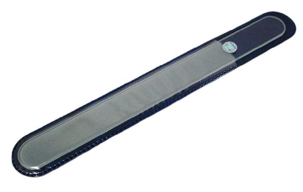 ディベートしないでください不振BLAZEK(ブラジェク) ガラスやすり(爪?かかと用) プレーン Lサイズ200mm