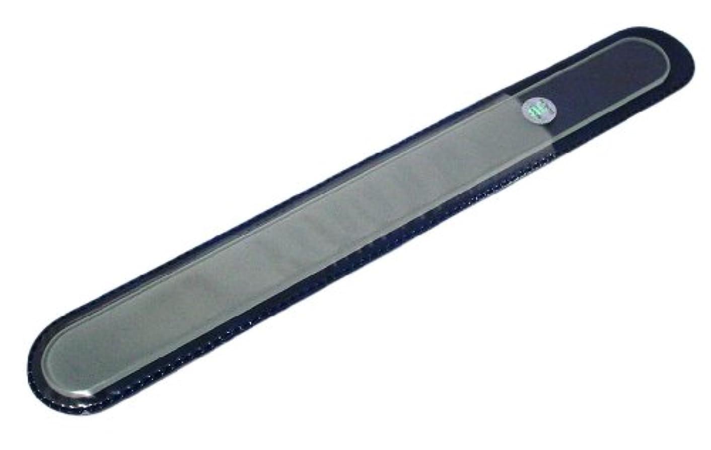 触覚バルーン拡散するBLAZEK(ブラジェク) ガラスやすり(爪?かかと用) プレーン Lサイズ200mm