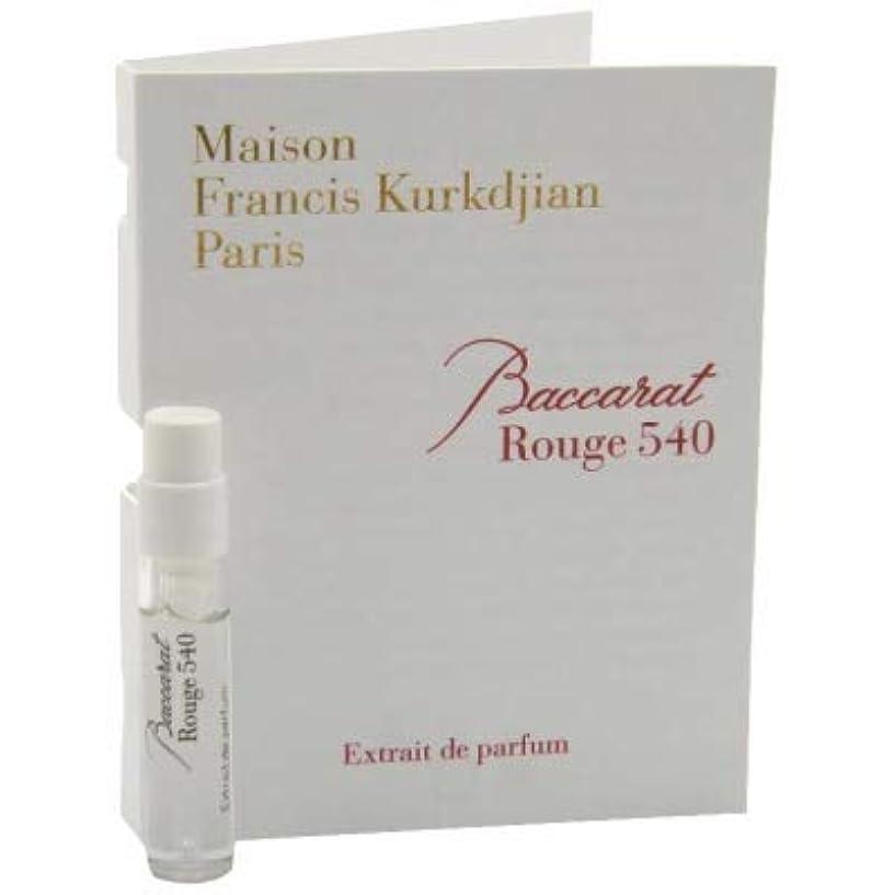 立場種をまくじゃがいもメゾン フランシス クルジャン バカラ ルージュ 540 エクストレ ド パルファン 2ml(Maison Francis Kurkdjian Baccarat Rouge 540 Extrait de Parfum Vial...