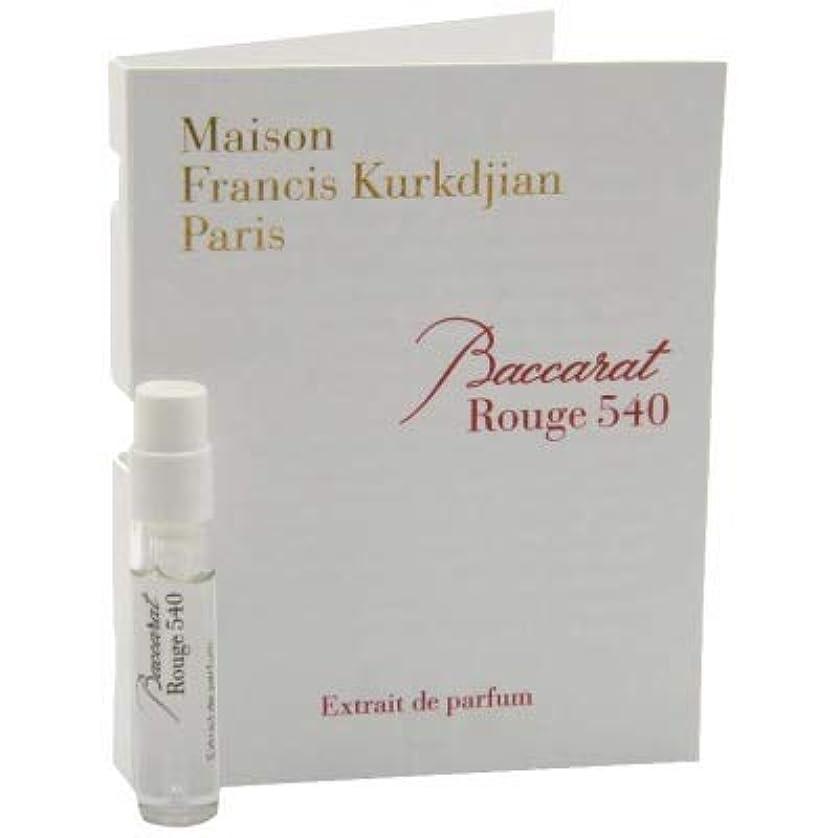 比較汗みがきますメゾン フランシス クルジャン バカラ ルージュ 540 エクストレ ド パルファン 2ml(Maison Francis Kurkdjian Baccarat Rouge 540 Extrait de Parfum Vial...