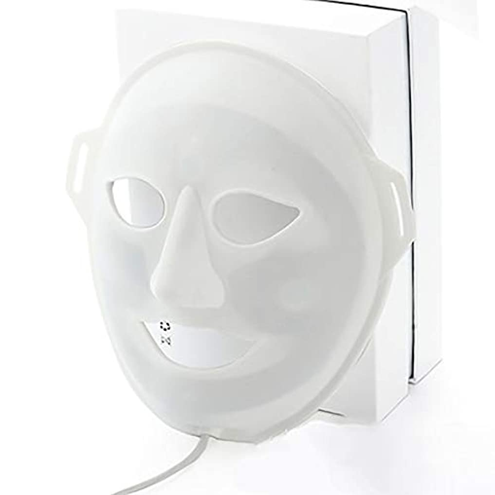 十代の若者たち服を着る学者LED光子美容マスク、抗にきびしわ除去療法、保湿輝く顔色ホワイトニングマスク