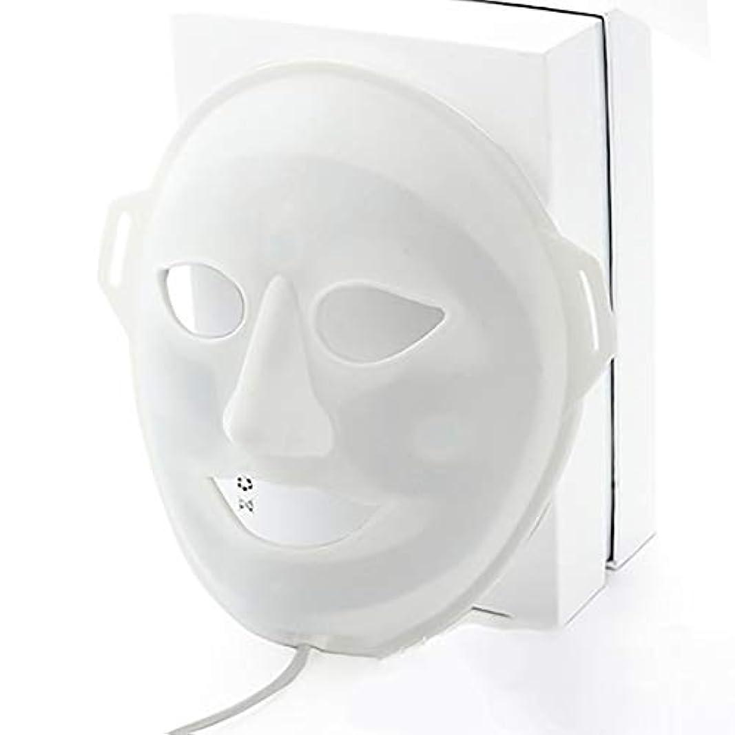 モルヒネ抗生物質のどLED光子美容マスク、抗にきびしわ除去療法、保湿輝く顔色ホワイトニングマスク