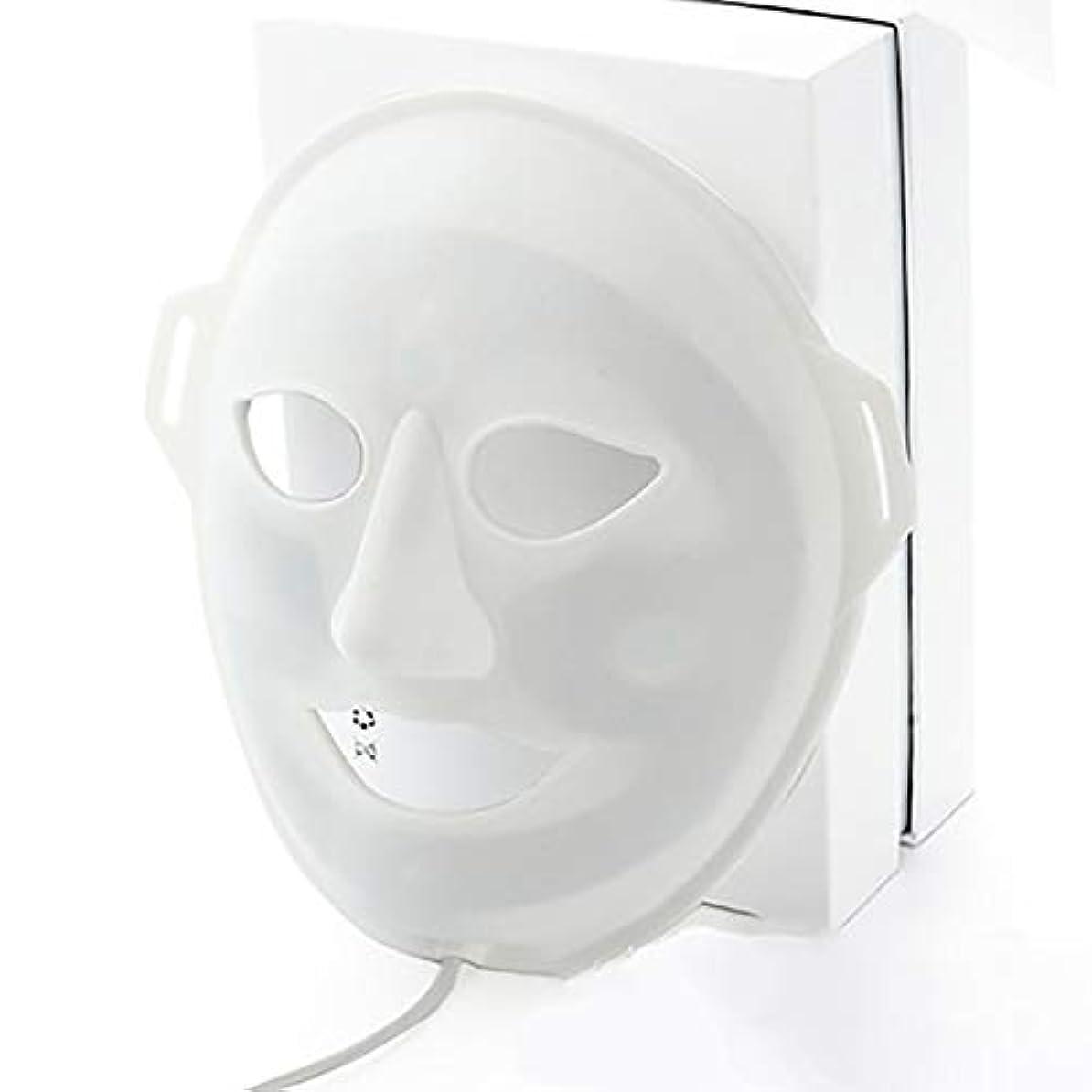 複雑でないボクシングシングルLED光子美容マスク、抗にきびしわ除去療法、保湿輝く顔色ホワイトニングマスク