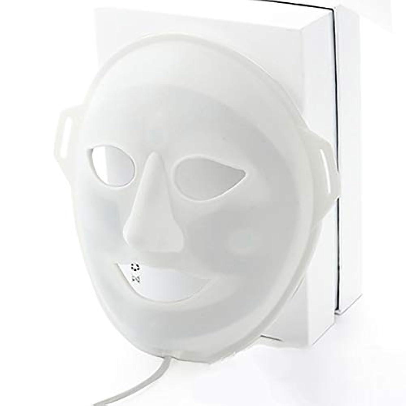 膨張する完全に乾く連帯LED光子美容マスク、抗にきびしわ除去療法、保湿輝く顔色ホワイトニングマスク