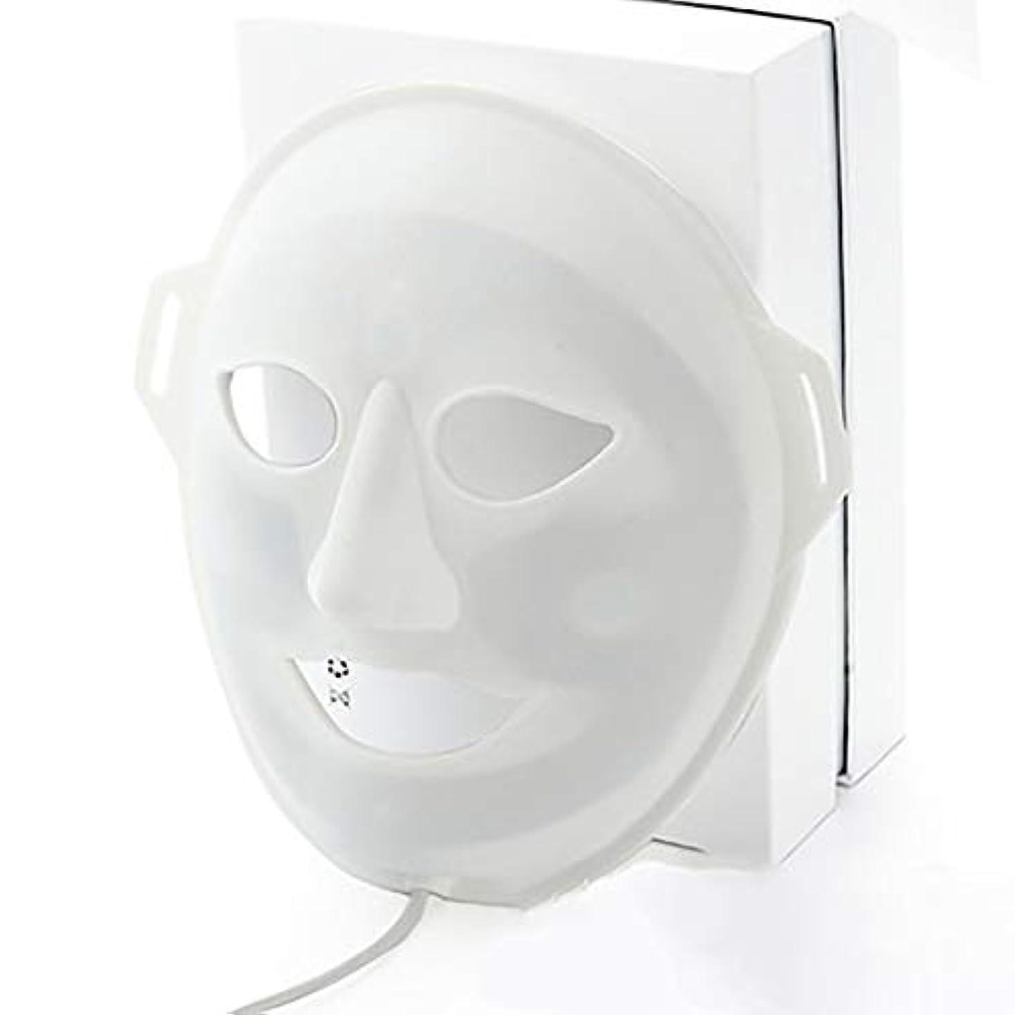 遊び場採用出血LED光子美容マスク、抗にきびしわ除去療法、保湿輝く顔色ホワイトニングマスク