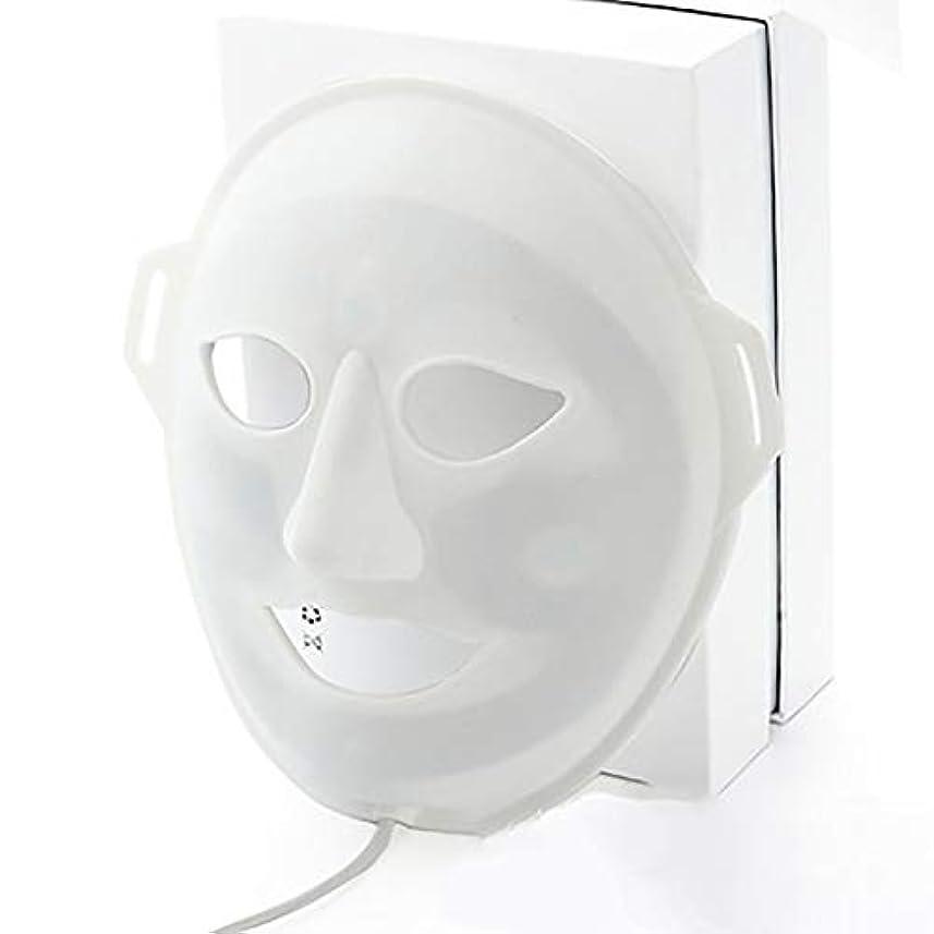 前方へ胸突き出すLED光子美容マスク、抗にきびしわ除去療法、保湿輝く顔色ホワイトニングマスク