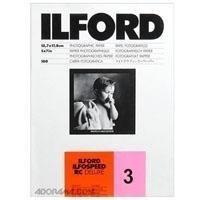 """Ilford Ilfospeed RCデラックス樹脂コーティングブラック&ホワイトEnlarging用紙–5x 7"""" - 100シート–1M–光沢サーフェス–グレード3–Commercial、押し、産業、広告、および表示作業用"""