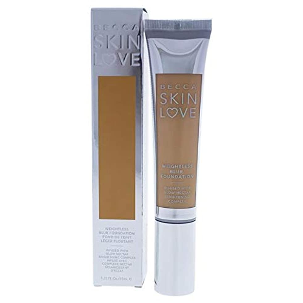 発信回復する賞賛ベッカ Skin Love Weightless Blur Foundation - # Cashmere 35ml/1.23oz並行輸入品