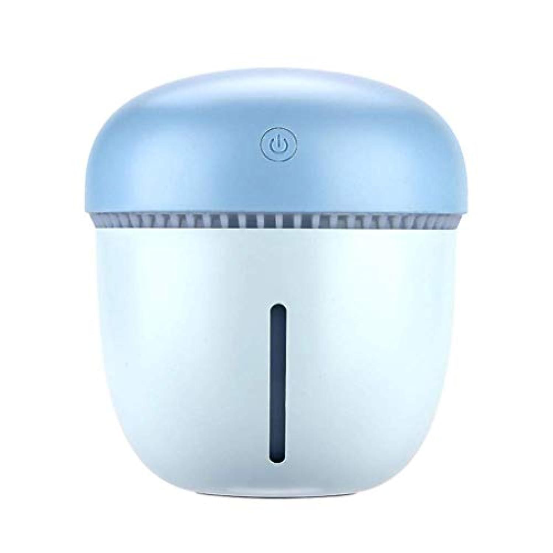 JJSFJH 超音波クールミスト加湿器usb - デスクトップ空気加湿乾燥防止超音波ミュート用ヨガオフィススパ寝室ベビールーム車 (色 : 青, サイズ さいず : S s)
