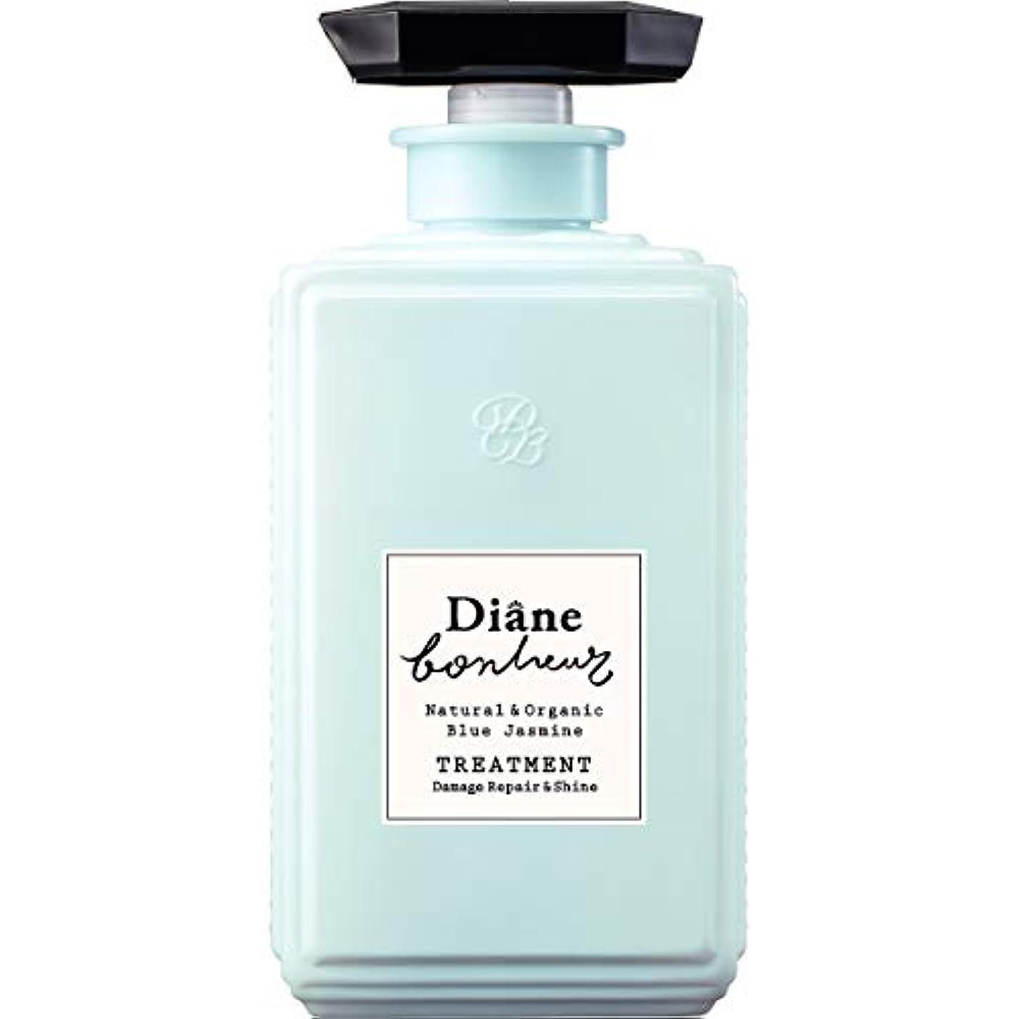 矩形紳士捧げるダイアン ボヌール トリートメント ブルージャスミンの香り ダメージリペア&シャイン 500ml