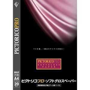 ピクトリコ ピクトリコプロ・ソフトグロスペーパー A4判(20枚入り) PPG210-A4/20