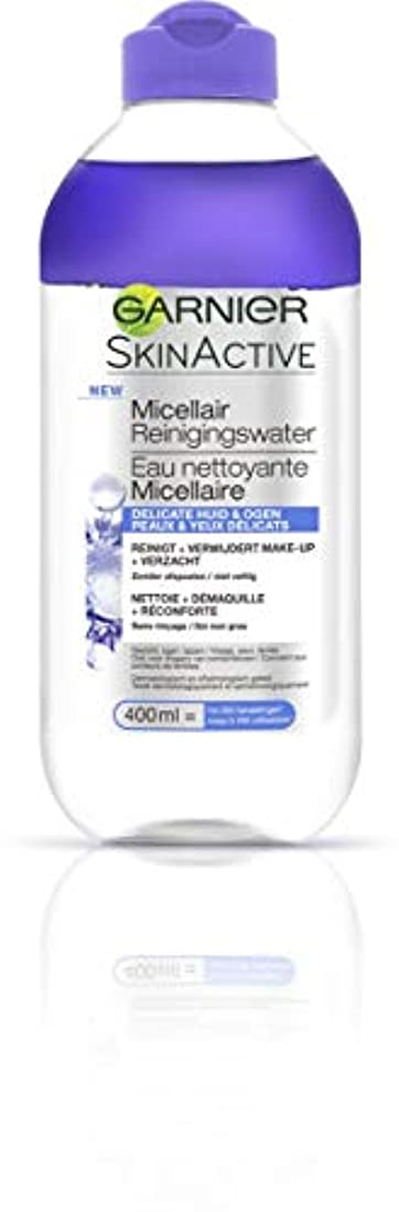 メンバー場合怒りガルニエ SkinActive Micellar Water (For Face & Eyes) - For Delicated Skin 400ml/13.3oz並行輸入品
