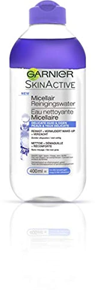巨大な優先権動作ガルニエ SkinActive Micellar Water (For Face & Eyes) - For Delicated Skin 400ml/13.3oz並行輸入品
