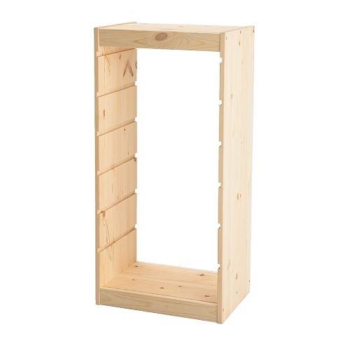 RoomClip商品情報 - IKEA(イケア) TROFAST 50169911 フレーム, パイン材