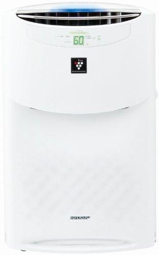 【PM2.5対応】SHARP プラズマクラスター25000搭載 加湿空気清浄機 ホワイト系 KI-AX70-W