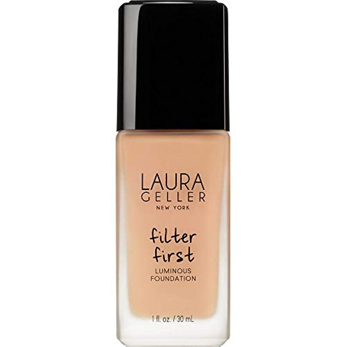 ルーバース思想[Laura Geller ] ローラ?ゲラーは、最初の発光基盤の30ミリリットルのベージュをフィルタリング - Laura Geller Filter First Luminous Foundation 30ml Beige...